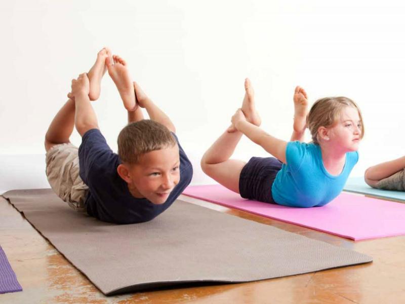 """Od decembra – joga za decu u FFC """"Kluz"""""""